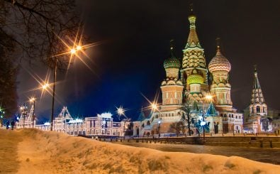 Moskau im Winter