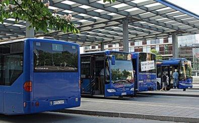 In Kaufbeuren fahren jedes Jahr etwa 3,7 Millionen Fahrgäste mit dem Bus. Foto: 06 | 26 | 46/ Credits: CC BY 2.0 | luzifair / flickr