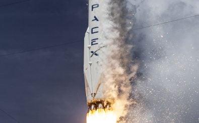 SpaceX hat eine recyclebare Rakete gebaut. Hier sieht man die Falcon 9 beim Start. Foto: CC0 1.0 | SpaceX / flickr.com