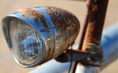 Manche mögen ja den Vintage-Touch alter Räder. Rost sollte man aber trotzdem schnell entfernen. Foto: Rostlicht CC BY-SA 2.0 | Eric Wüstenhagen / flickr.com