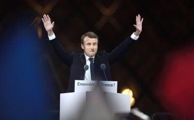 Emmanuel Macron wird Frankreichs neuer Präsident. Foto: Eric Feferberg | AFP
