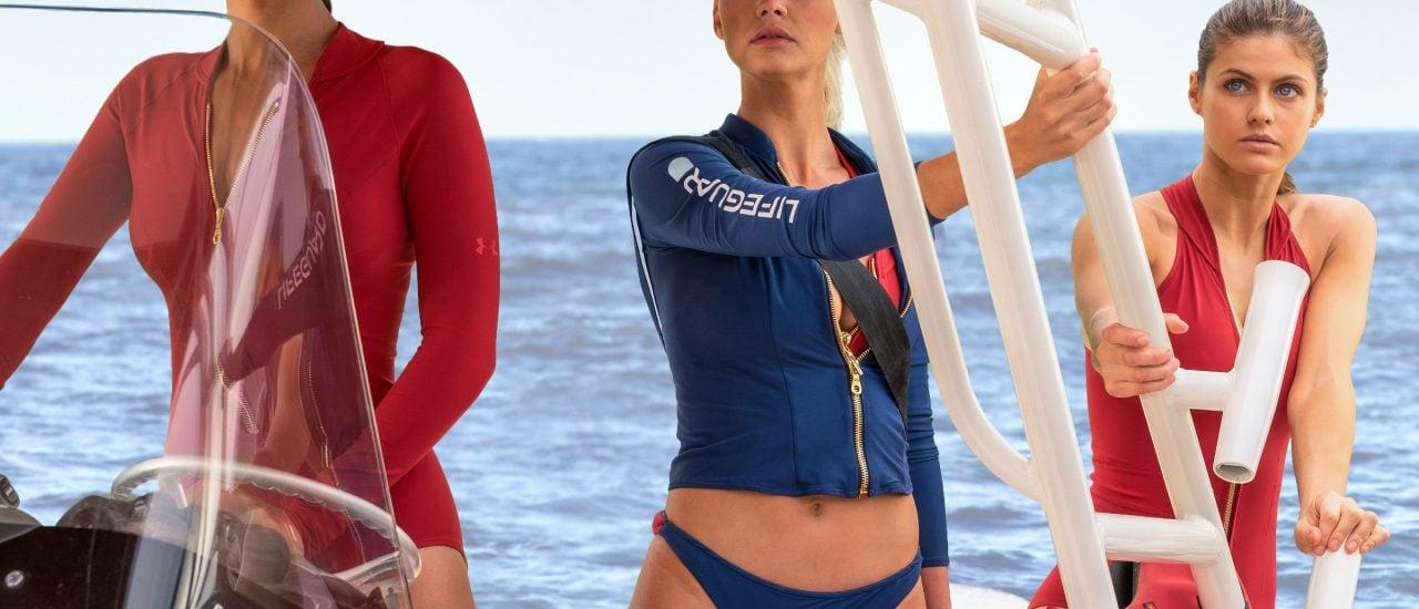 Die neuen Rettungsschwimmerinnen: Die Kultserie Baywatch erhält einen Kinofilm. Bild: © Paramount Pictures. Screenshot | youtube.com