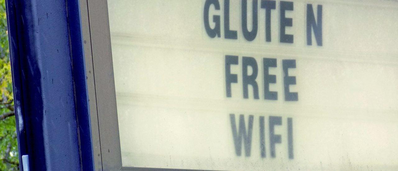 Glutenfrei und freies WLAN. Beides wird an immer mehr Orten angeboten. Foto: CC0 1.0 | Mr. Gray / flickr.com