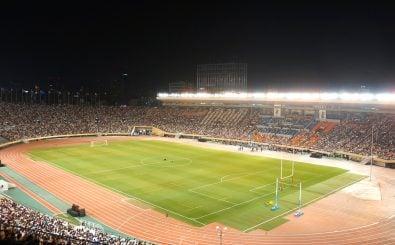 2020 finden in Tokio die Olympischen Spiele statt. Bis dahin soll Chinas U20 in Deutschland spielen. Foto: 国立霞ヶ丘陸上競技場 (National Olympic Stadium) /credits: CC BY 2.0 | Kentaro Ohno / flickr.com