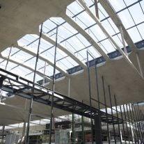 Blick in die Baustelle der Station F. Foto:  © Sophie Robichon