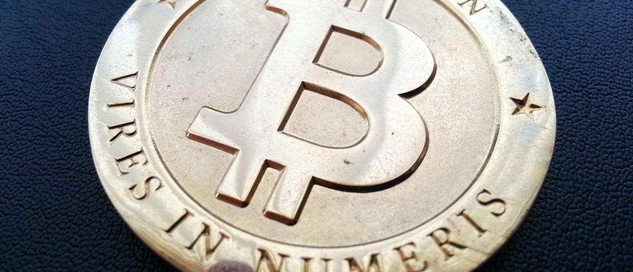 Achtung, Fälschung! Bitcoins existieren nur virtuell. Foto: Bitcoin CC BY-SA 2.0 | Zach Copley / flickr.com