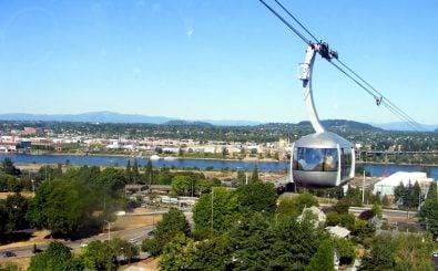 Die Aerial Tram in Portland wurde 2006 eröffnet. Foto: Aerial Tram|Portland | //lucylu – flickr.com – CC BY-ND 2.0