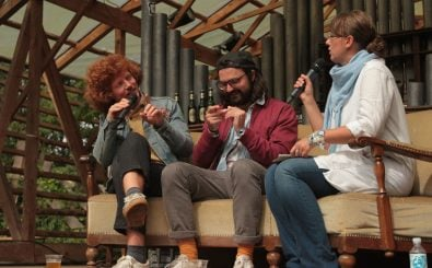 Sea Moya auf der MS Dockville Interview-Bühne. Foto: detektor.fm/<a href