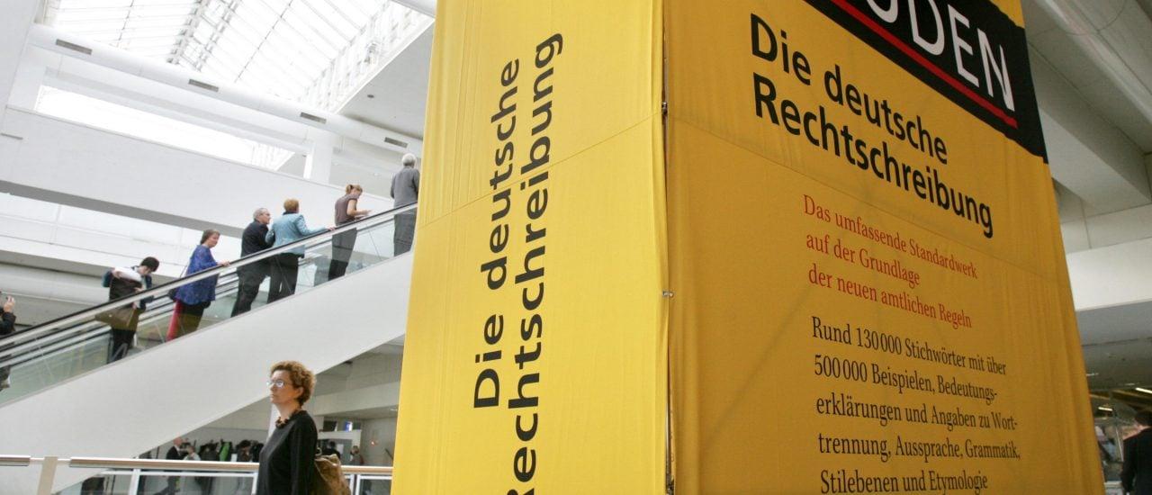 Die deutsche Sprache befindet sich in einem ständigen Wandel, den auch die Jugendsprache beeinflusst. Foto: John MacDougall | AFP