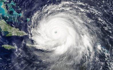 Hurricane Irma soll der schwerste Sturm sein, der je über dem Atlantik gemessen wurde. Foto: Hurricane Irma 2017 09 07. CC BY 2.0 | Antti Lipponen / flickr.com