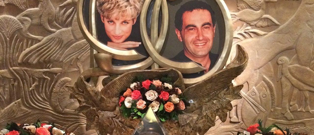 Der vor 20 Jahren verstorbenen Prinzessin Diana und ihrem Lebensgefährten Dodi Al-Fayed wurde bei Harrods in London ein Denkmal gesetzt. Foto: Princess Diana Memorial   CC BY 2.0   Sarah Ackermann / flickr.com