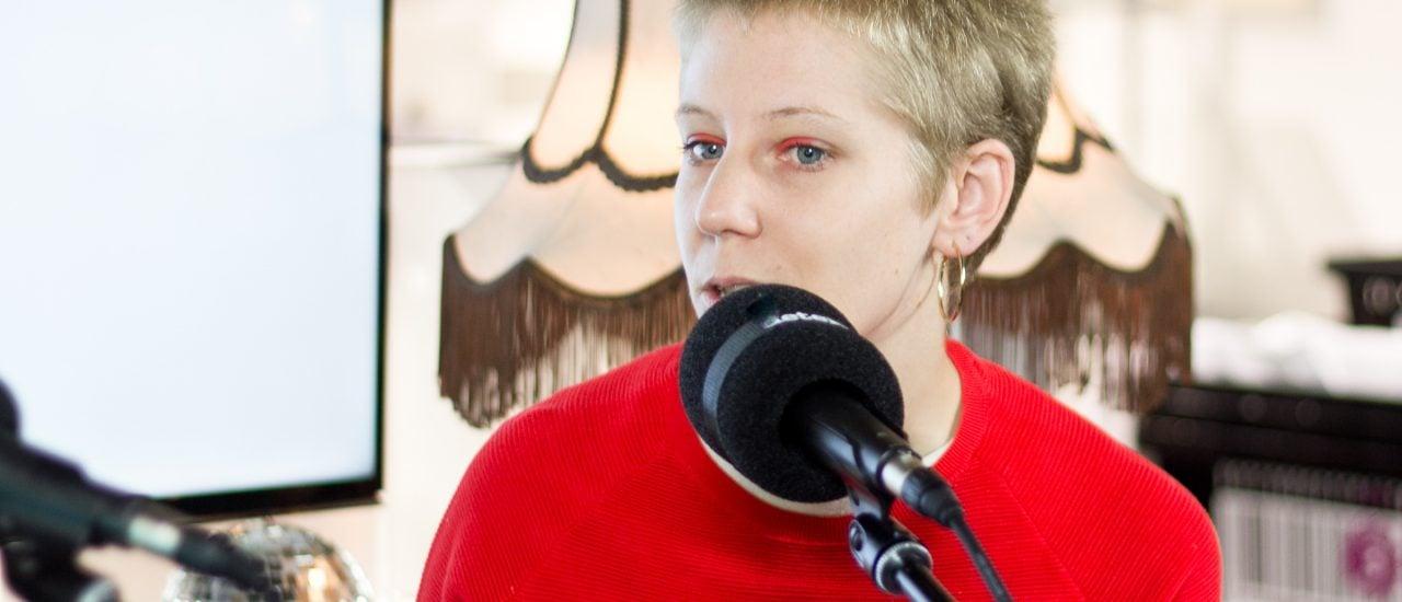 Jovana Reisinger war bei uns am Stand N99, Halle 4.1 (THEARTS+) auf der Frankfurter Buchmesse.