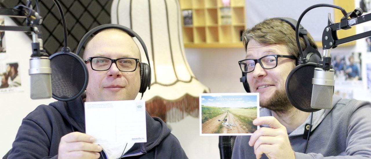Holger und Gerolf im Studio. Foto: Kati Zubek | detektor.fm