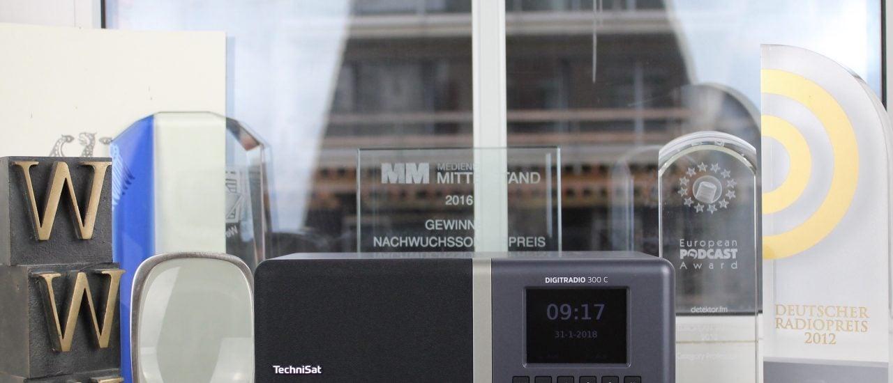 Zuwachs in unserer Küche: Ein DAB+ Radio. Foto: Merten Waage | detektor.fm