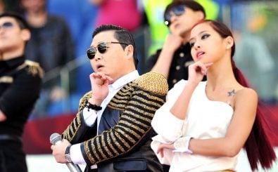 """Jede Geste sitzt: Rapper Psy performt """"Gangnam Style"""""""