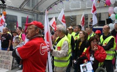 Rechte Gewerkschaften gewinnen an Zulauf, während das Vertrauen in die traditionellen sinkt. Foto: CFM Streik Zweites Album | CC BY 2.0 | SAV Sozialistische Alternative / flickr.com