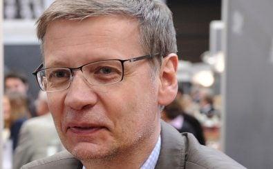 Hängt Günther Jauch seine Tv-Karriere an den Nagel ? Foto: Patrik Stollarz   AFP