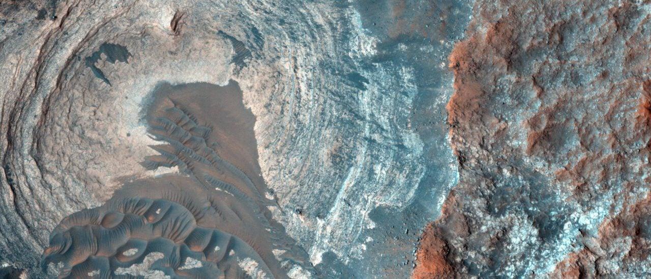 Der Mars ist für Menschen noch nicht zu erreichen. Deshalb muss man unter ähnlichen Bedingungen auf der Erde trainieren. Foto: Nasa | unsplash.com