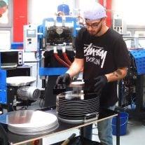 Vinyl-Presswerk