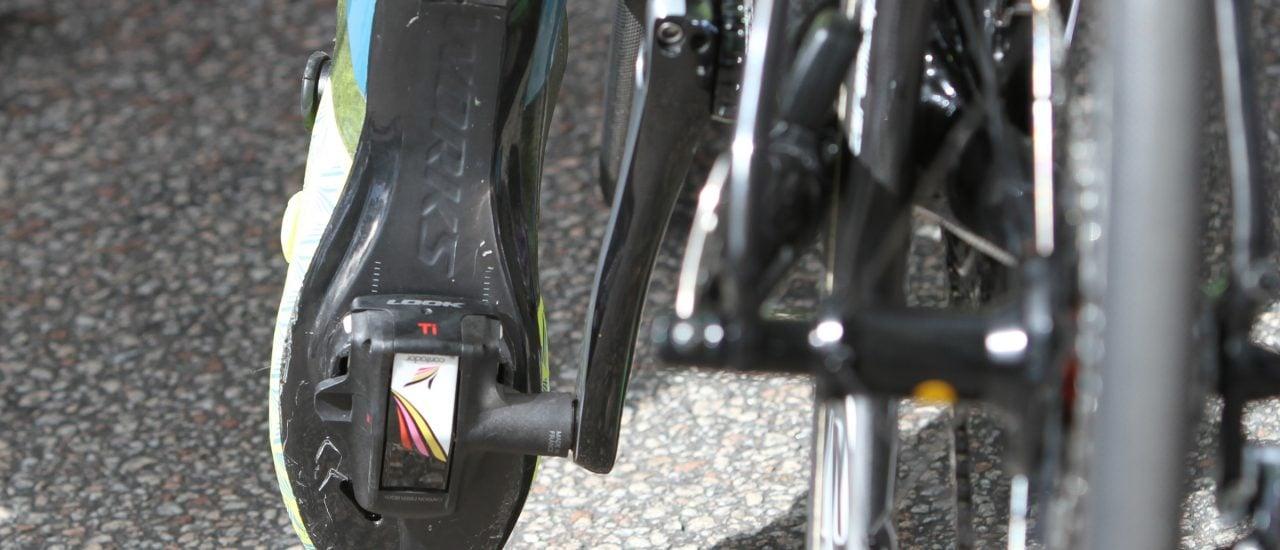 Klickpedal bei der Tour de France. Bild: Jens Klötzer