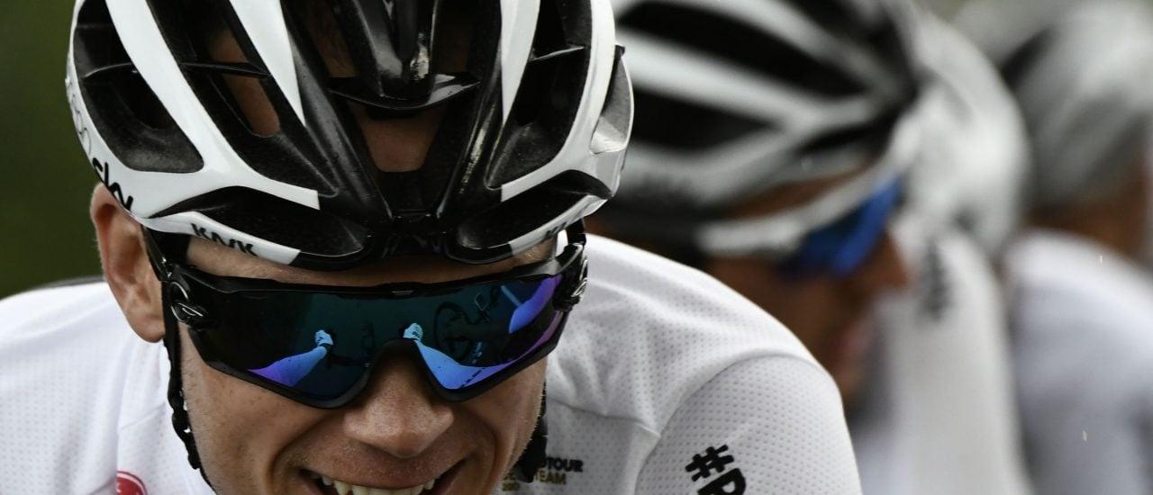 Steht nun doch am Start der Tour de France 2018: Christopher Froome vom Team Sky. Foto: Philippe Lopez | AFP
