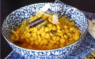 Channa Dal Copra wali – nur eines von vielen indischen Gerichten auf dem Food-Blog karai. Foto: Chana dal Kokos | Muryia