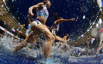 Die Wettkämpfe der Leichtathletik haben in Berlin stattgefunden. Bild: Adrej Isakovic | AFP