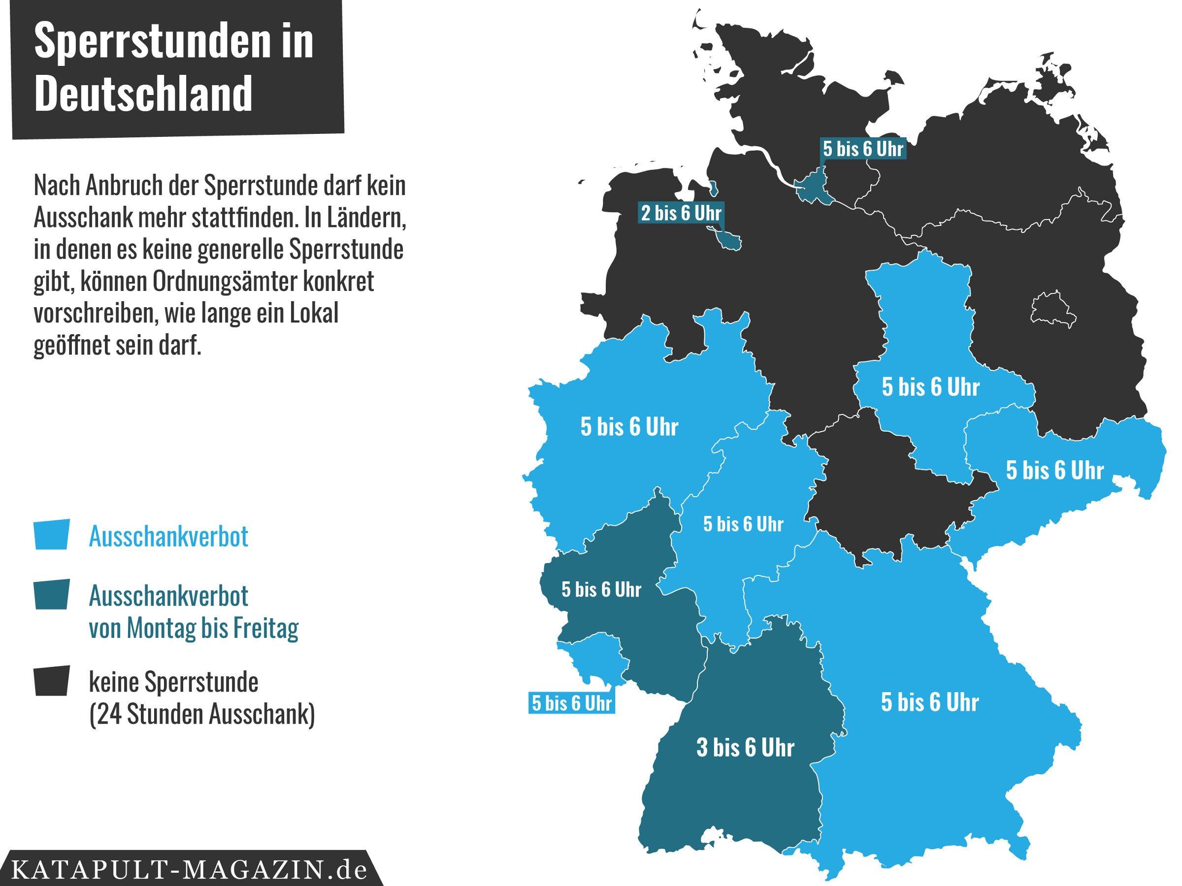 Karte der Woche | Ist eine Sperrstunde in Deutschland sinnvoll? – Hochgeklappte Bürgersteige | detektor.fm – Das Podcast-Radio