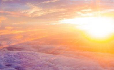 Sonnenstürme sind nur eine Möglichkeit, wie sich das Weltraumwetter auch bei uns auf der Erde zeigt. Foto: Sun | Unsplash | Zain Bhatti