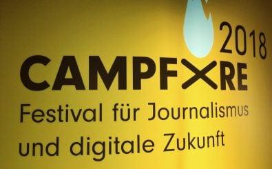Beim Campfire-Festival ging es dieses Mal um die Zukunft des digitalen Journalismus. Foto: Anja Bolle / detektor.fm