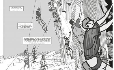 Hoch hinauf kommt man durch die Organisation im Internet. Foto: Auszug | Jonathan Sachse, Vincent Burmeister