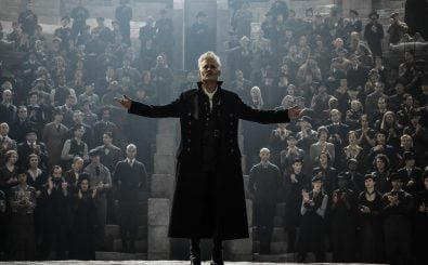 """JOHNNY DEPP as Grindelwald in Warner Bros. Pictures' fantasy adventure """"FANTASTIC BEASTS: THE CRIMES OF GRINDELWALD,"""" a Warner Bros. Pictures release. 