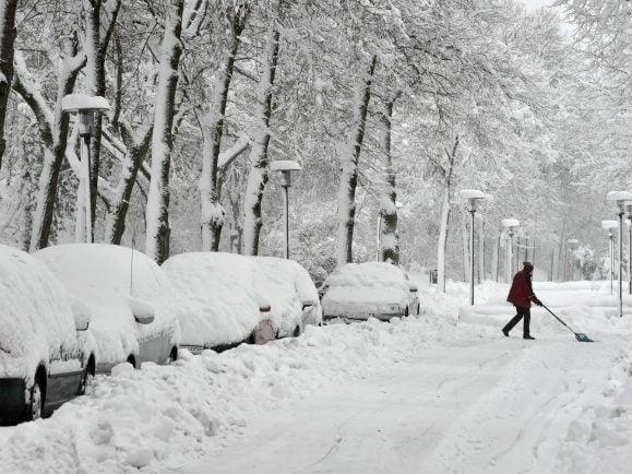 Schneemassen