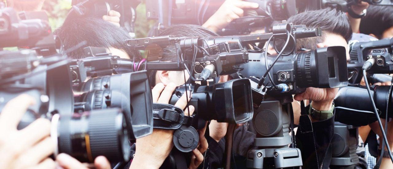 Auch die Presse kann sich auf Artikel 5 des Grundgesetzes berufen. Foto: stockphoto mania | Shutterstock.com