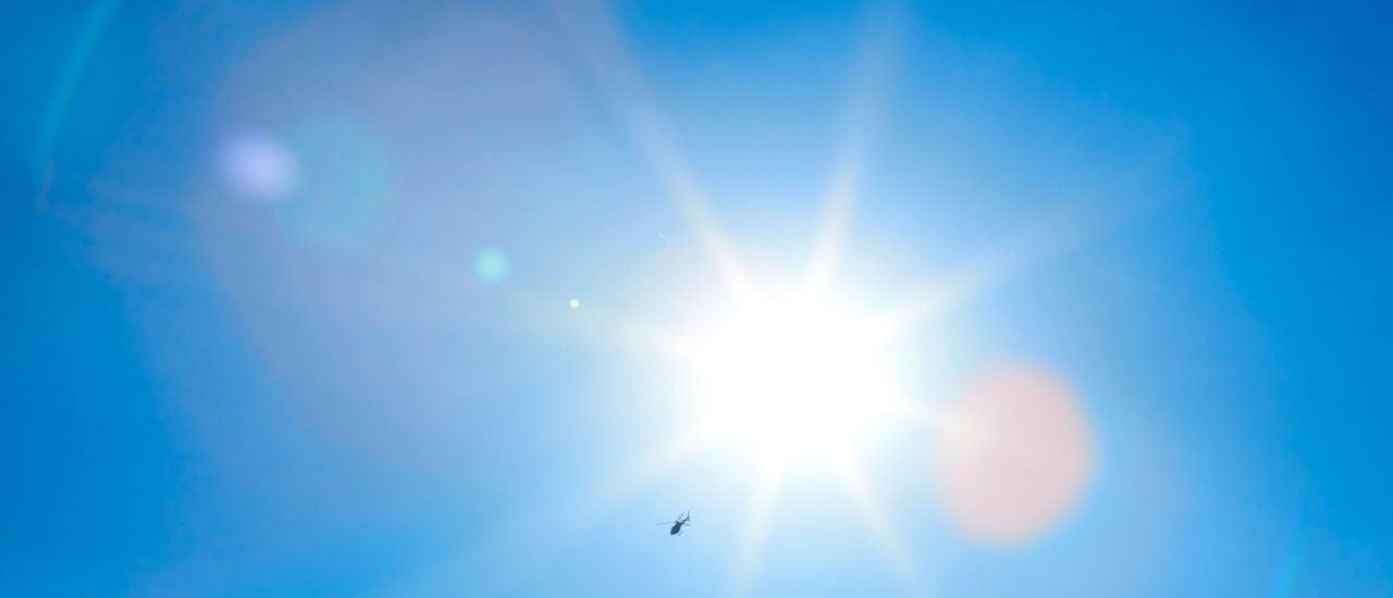 Strahlender Sonnenschein und über 20 Grad im Februar. Ist das der Jetstream? Foto: GalapagosPhoto | shutterstock.com