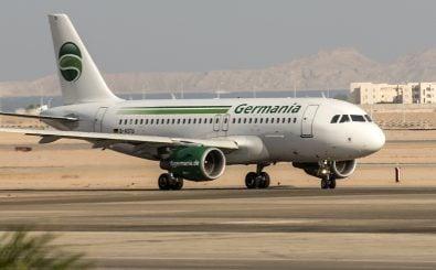 Die Fluggesellschaft Germania hat Insolvenz angemeldet. Foto: MOHAMED EL-SHAHED | AFP