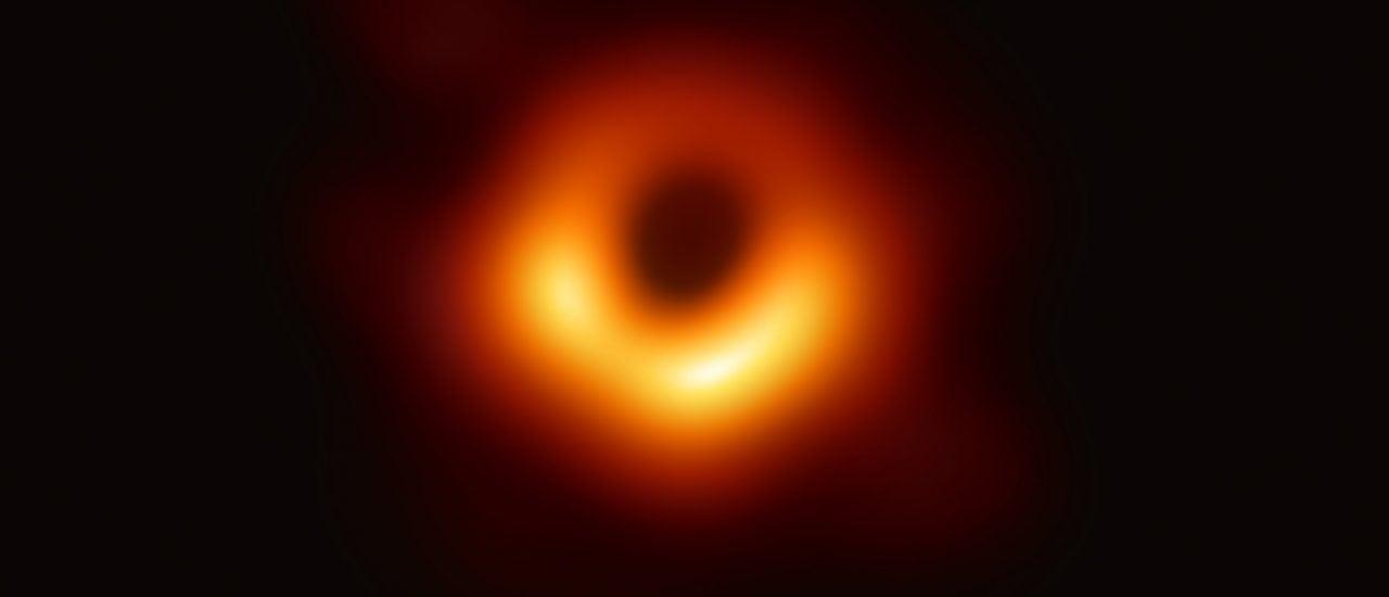 Dieses Foto des Event Horzion Telescope beweist die Existenz Schwarzer Löcher Foto: EUROPEAN SOUTHERN OBSERVATORY | AFP