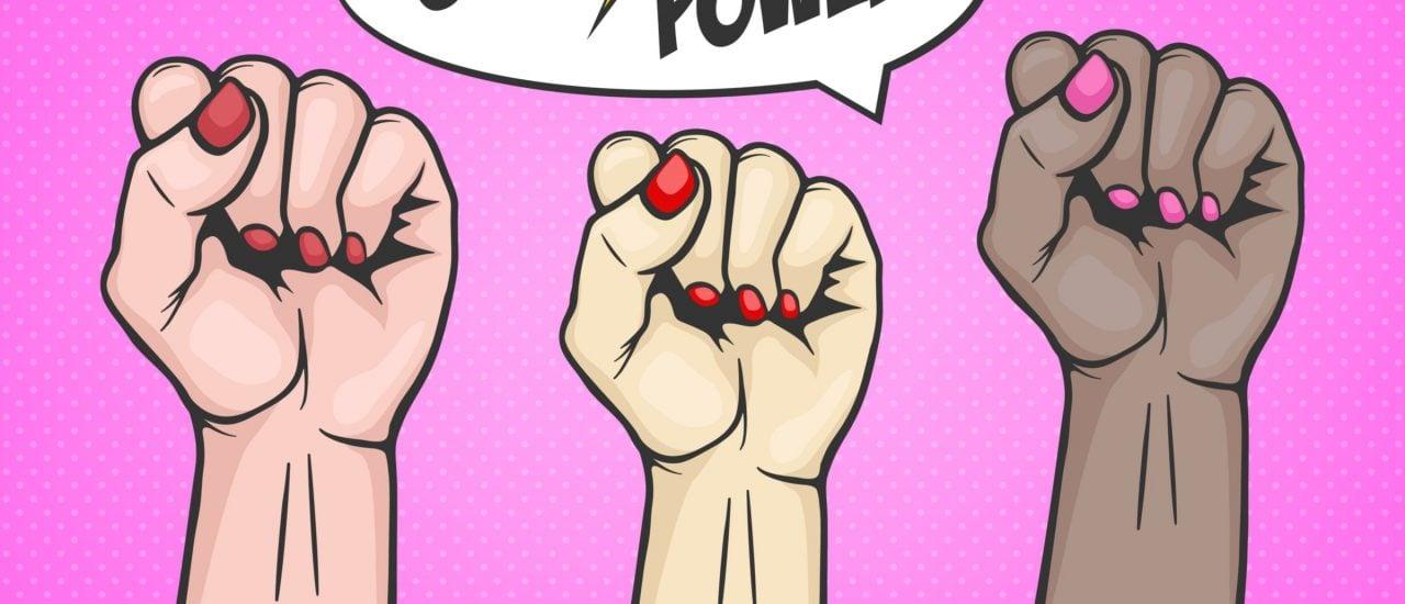 Feministischer Protest weist auf die Ungleichheit zwischen den Geschlechtern hin. Die existiert nämlich weiterhin. Foto | gomolach | shutterstock