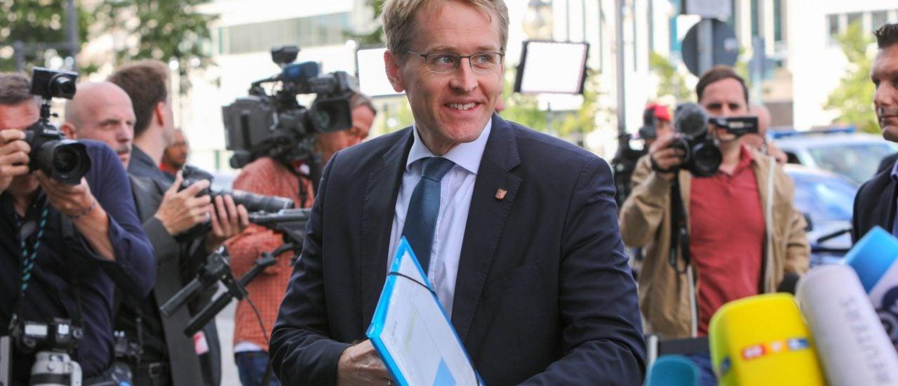 Daniel Günter (CDU), Ministerpräsident von Schleswig-Holstein. Foto: Omer Messinger | AFP