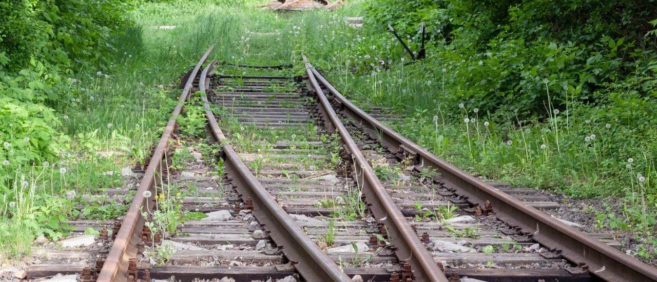 Gut ein Fünftel des gesamtdeutschen Schienennetzes ist seit 1990 stillgelegt worden. Foto: monte a | shutterstock