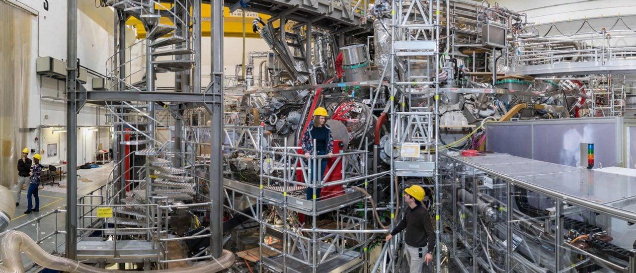 Im Wendelstein 7-X soll Energie durch Kernfusion erzeugt werden. Foto: | © IPP