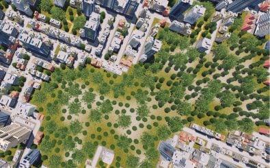 Städteplanung kann einen entscheidenden Beitrag gegen den fortschreitenden Klimawandel leisten. Foto: