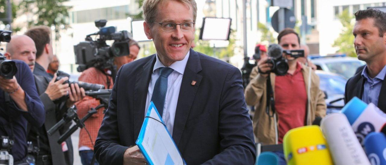 Daniel Günther ist aktueller Bundesratspräsident. Foto: Omer Messinger | AFP