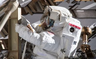 Anne McClain war von Dezember 2018 bis Juni 2019 auf der internationalen Raumstation ISS tätig. Foto: HO/NASA | AFP