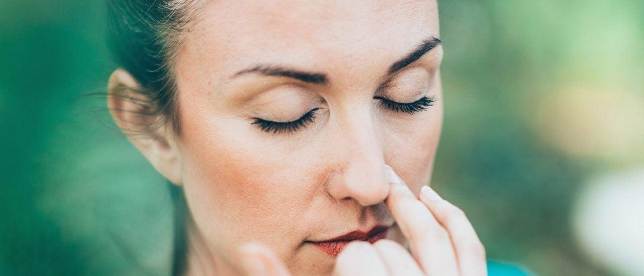 Ob Hyperventilation oder ruhige Wechselatmung: wie wir atmen, bestimmt, wie wir uns fühlen. Foto: microgen | shutterstock.com