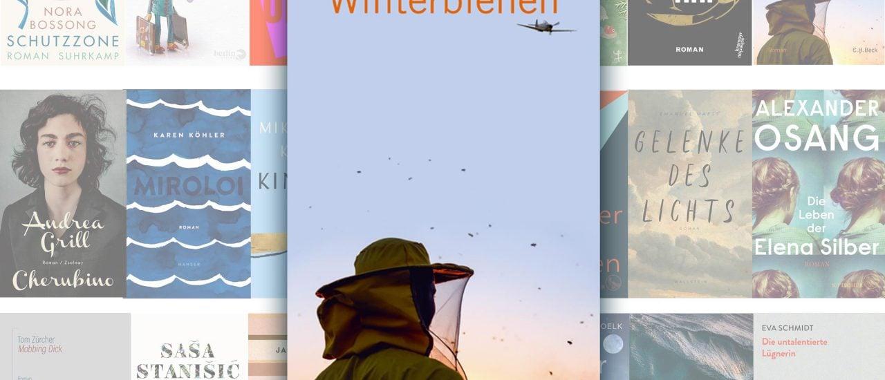 """""""Winterbienen"""" von Norbert Scheuer ist auf der Longlist der Nominierten für den Deutschen Buchpreis 2019. Bild: detektor.fm"""