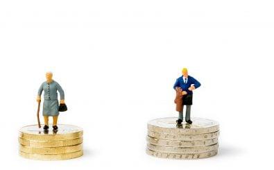 Frauen bekommen im Schnitt 25 Prozent weniger Rente als Männer. Bild: | shutterstock