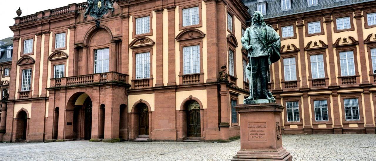 Die Uni Mannheim. Foto: Rolf G Wackenberger | shutterstock.com