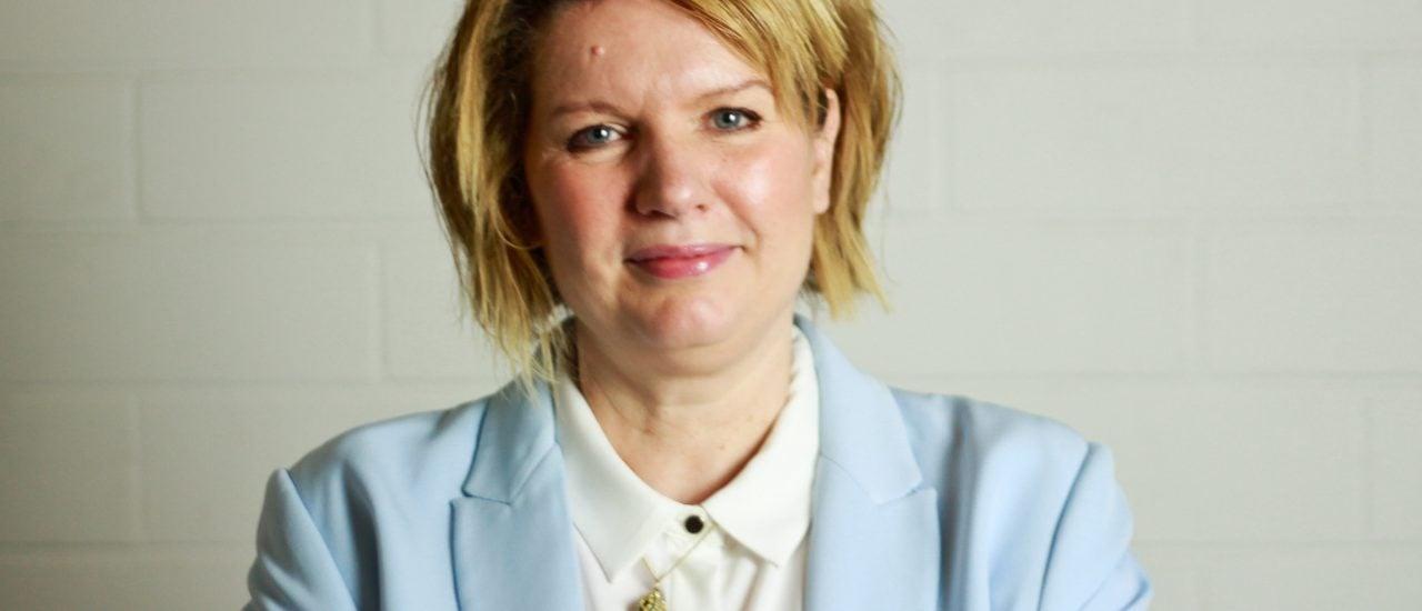 Die Digitalexpertin und Autorin Yvonne Hofstetter. Foto: Kati Zubek | detektor.fm