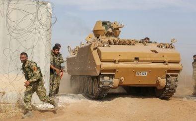 Die Türkei hat eine Militär-Offensive in Syrien gestartet. Foto: Nazeer Al-khatib